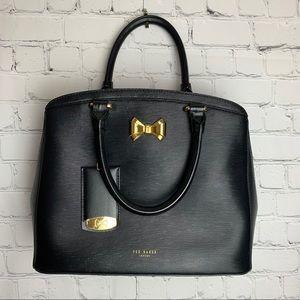 TED BAKER TEALIA Sarafino Leather Satchel Bag